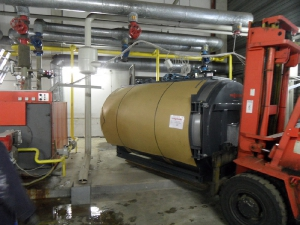 2011 Dormagen Logistikzentrum Heizkessel 2x 2300 kW