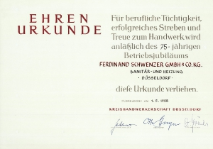 Betriebsjubiläen