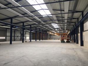 2017 Mönchengladbach Industriehalle Deckenstrahlungsheizung